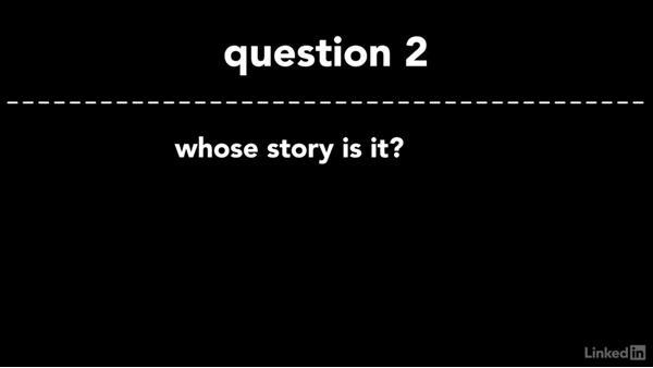 The basics of storytelling: Cinematography 01: Narrative Fundamentals