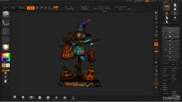 Final wrap-up: ZBrush: Sculpt a Scarecrow