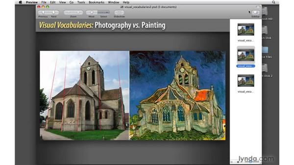 Understanding the vocabularies of paint photography: Painter 11 Essential Training