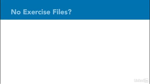 Using the exercise files: Windows Performance Toolkit: CPU Analysis