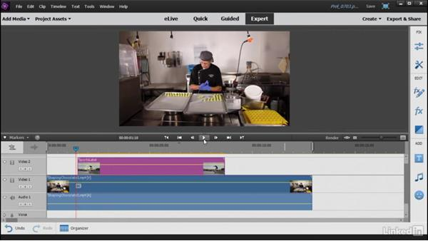 Using and customizing motion titles: Learning Premiere Elements 15