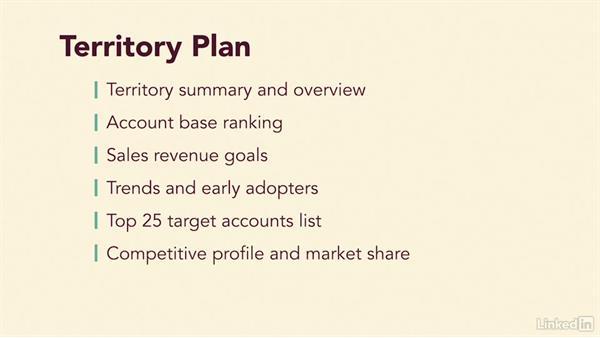 establish a sales activity plan