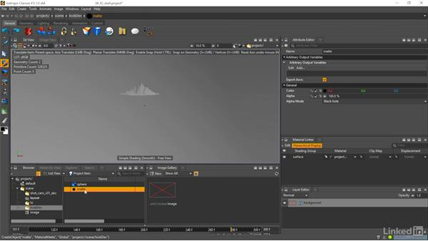 Setting up Lookdev: Matte Painting: Environments for Film