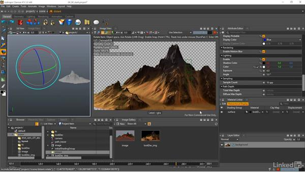 Creating a layered shader: Matte Painting: Environments for Film