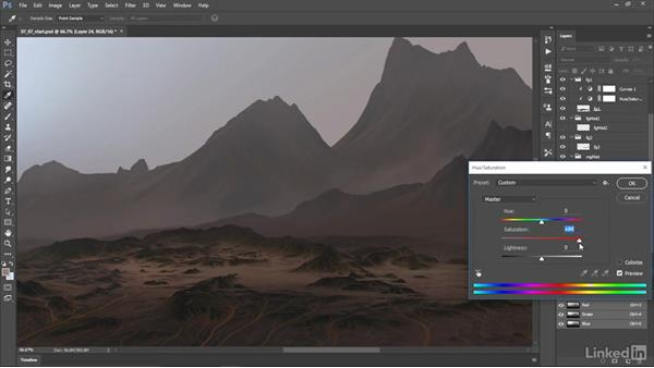 Exporting layers: Matte Painting: Environments for Film