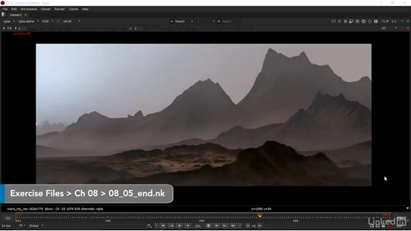 Final render: Matte Painting: Environments for Film