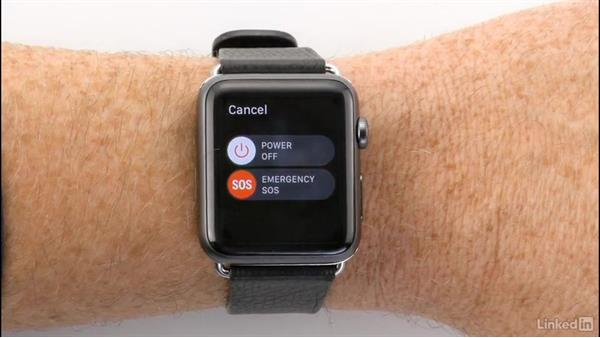 Call emergency services using the SOS feature: Apple watchOS 3 New Features