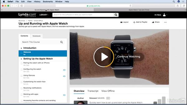 Next steps: Apple watchOS 3 New Features