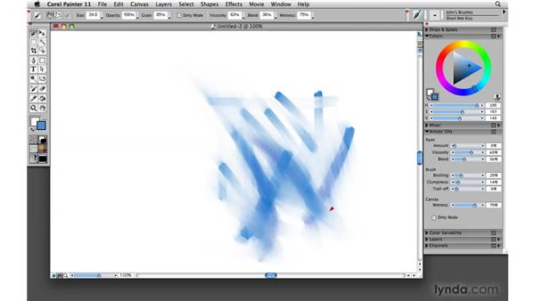 Resetting brushes: Painter's panic button: Painter 11 Essential Training