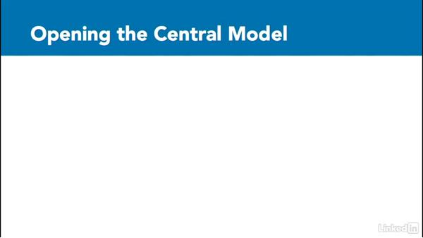 When to open the central file: Revit Worksharing: Management