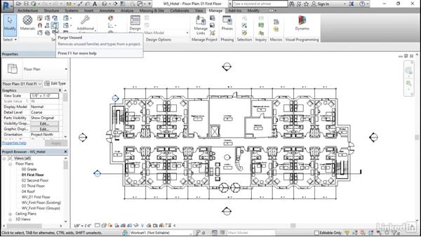 Performing central model maintenance: Revit Worksharing: Management