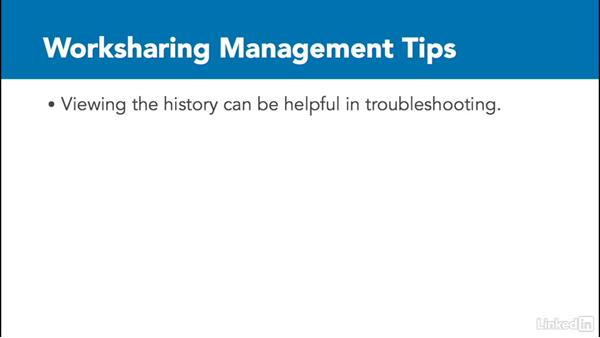 Worksharing tips: Revit Worksharing: Management