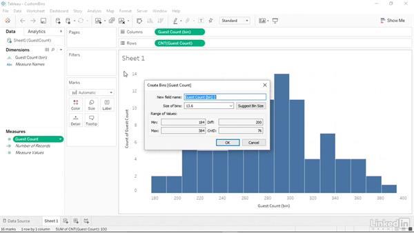 Summarizing data using a smart histogram