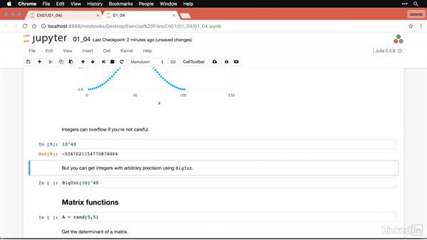 Mathematical formulas and calculations: Julia for Data Scientists First Look