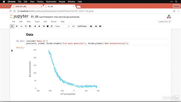Loops and vectorized operations: Julia for Data Scientists First Look