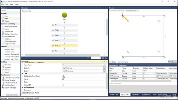 Adding links: Learn Autodesk Subassembly Composer