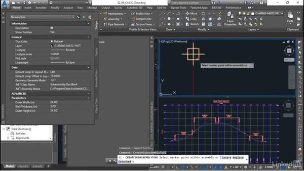 Testing subassembly in Civil 3D: Learn Autodesk Subassembly Composer
