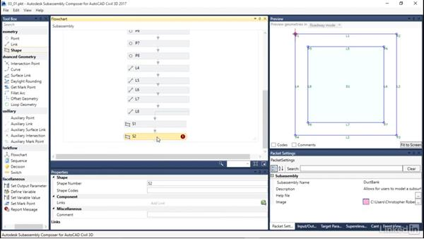 Define a shape: Learn Autodesk Subassembly Composer