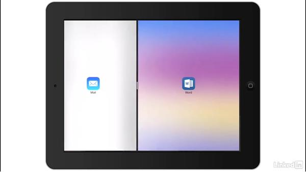 iPad Slide Over, Split View, and Picture in Picture: iOS 10: iPhone and iPad Essential Training