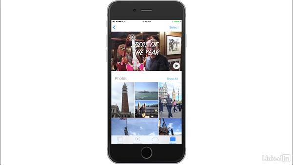 Work with Memories: iOS 10: iPhone and iPad Essential Training