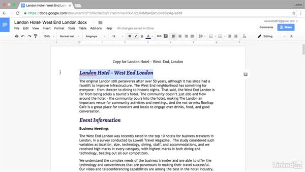 Use the Paint Format tool to easily copy styles: Google Docs Advanced Tips and Tricks