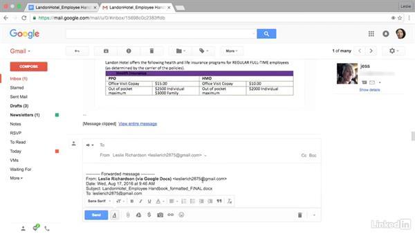 Email all doc collaborators: Google Docs Advanced Tips and Tricks