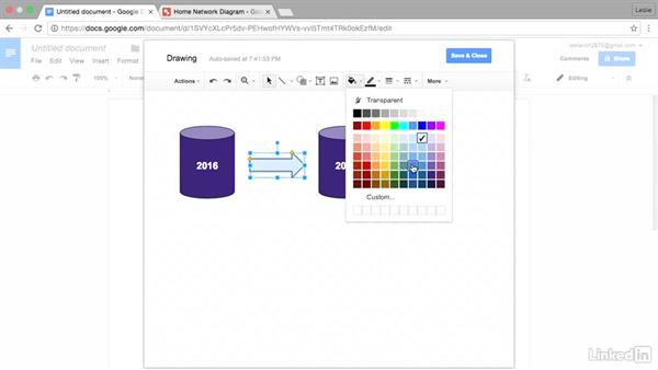 Create flowcharts with Google Drawings: Google Docs Advanced Tips and Tricks