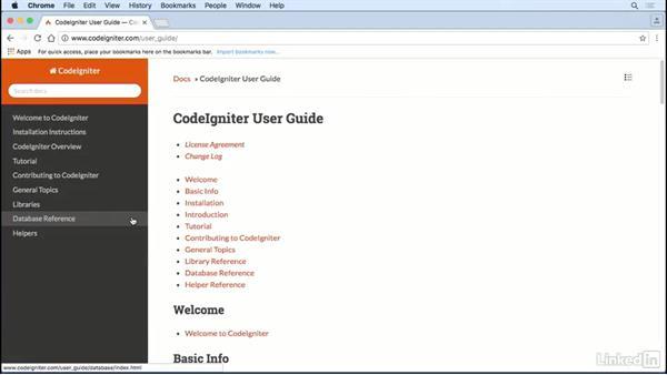 Next steps: Learn CodeIgniter 3: The Basics