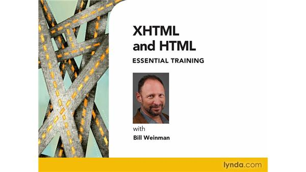 Goodbye: XHTML and HTML Essential Training
