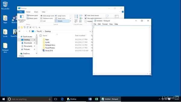 What you should know before watching this course: Customizing Windows 10 for Accessibility and Ease of Use
