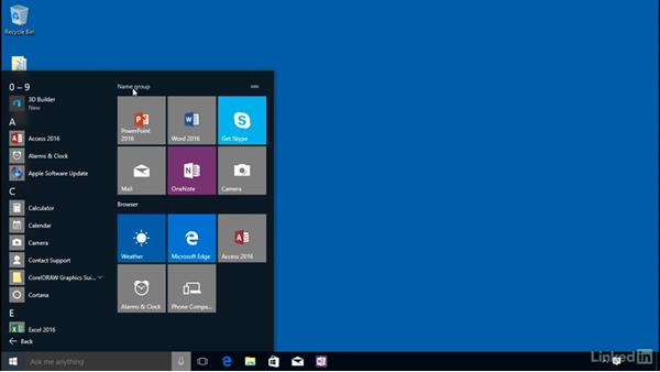 Start menu personalization: Customizing Windows 10 for Accessibility and Ease of Use