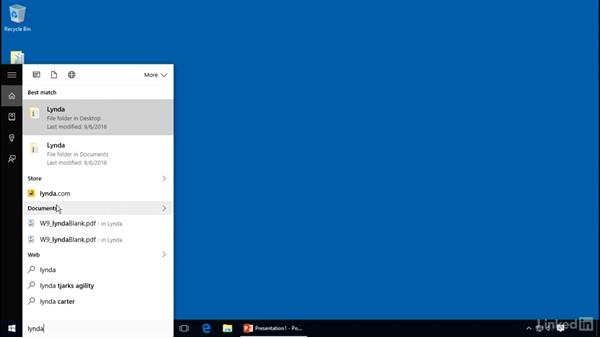 Search using the Start menu: Customizing Windows 10 for Accessibility and Ease of Use