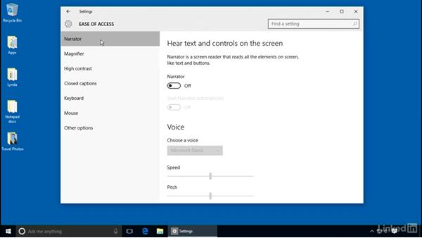 Introduction to the Ease of Access tools: Customizing Windows 10 for Accessibility and Ease of Use