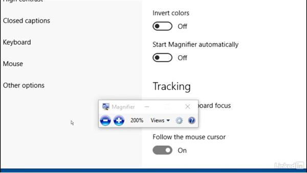 Ease of Access narrator and magnifier: Customizing Windows 10 for Accessibility and Ease of Use