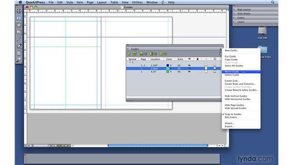 Understanding Guide Manager Pro: QuarkXPress 8 Essential Training