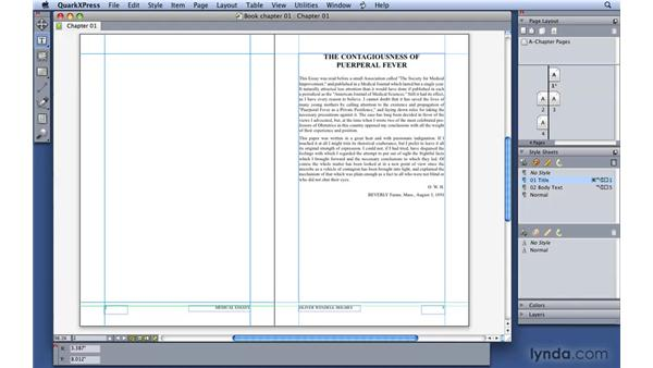 Working with Master Pages: QuarkXPress 8 Essential Training