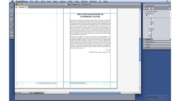 Working with Master Pages and Layout Pages: QuarkXPress 8 Essential Training