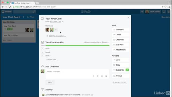 Members, checklists, due dates, and labels: Trello for Video Post Production