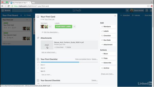 Attaching files to cards: Trello for Video Post Production
