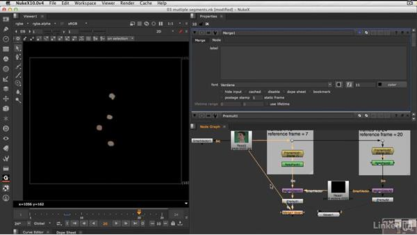 How to set up multiple segments: NUKE 10 New Features