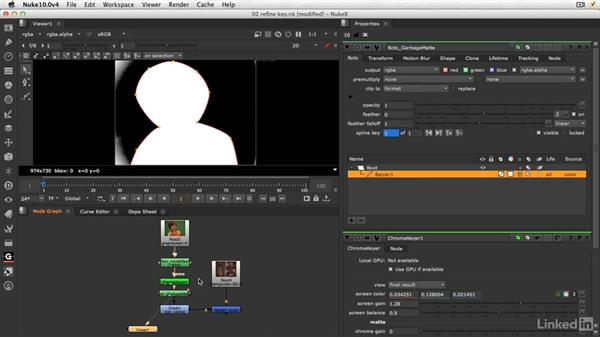 Refining the key: NUKE 10 New Features