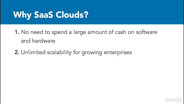 SaaS clouds: Learning Cloud Computing: Core Concepts