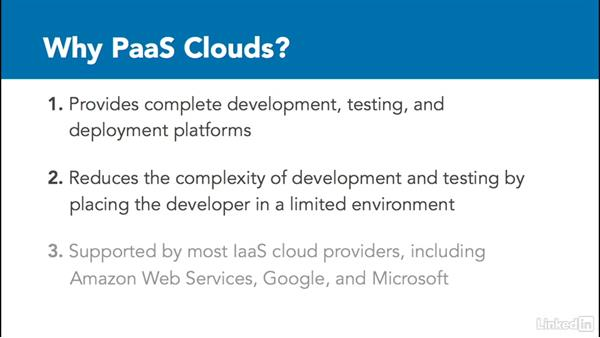 PaaS clouds: Learning Cloud Computing: Core Concepts