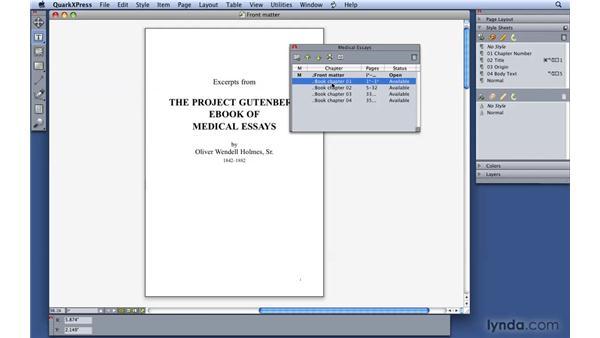 : QuarkXPress 8 Essential Training