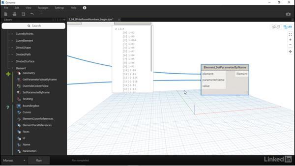 Set Revit parameter values with Dynamo: Dynamo for Revit Workflow