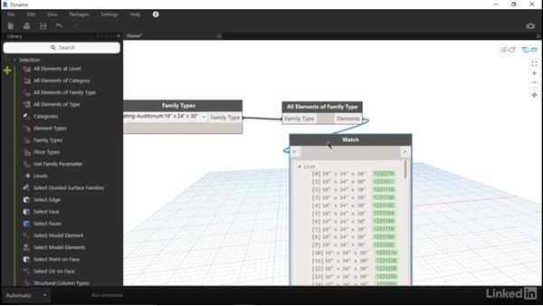 Count family instances for a parameter: Dynamo for Revit Workflow