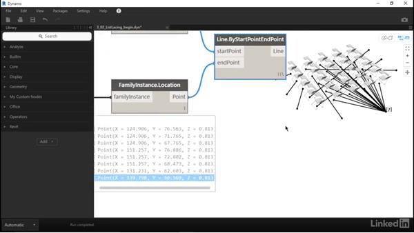 Understanding list lacing: Dynamo for Revit Workflow