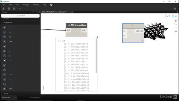 Filter line lengths with a Boolean mask: Dynamo for Revit Workflow