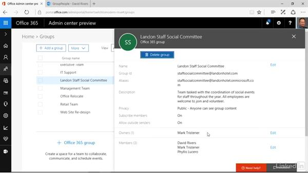 Leave a group you created: Office 365: Groups for Administrators