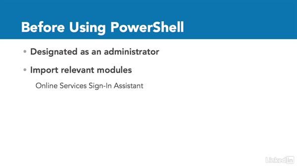 Get PowerShell for Office 365: Office 365: Groups for Administrators